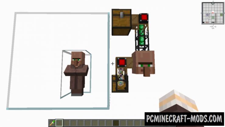 Cubic Villager - Tweaks Mod Minecraft 1.16.5, 1.15.2, 1.12.2