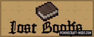 Lost Books - Tweak Mod For Minecraft 1.12.2
