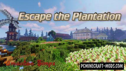 Escape the Plantation - Minigame Map For MC
