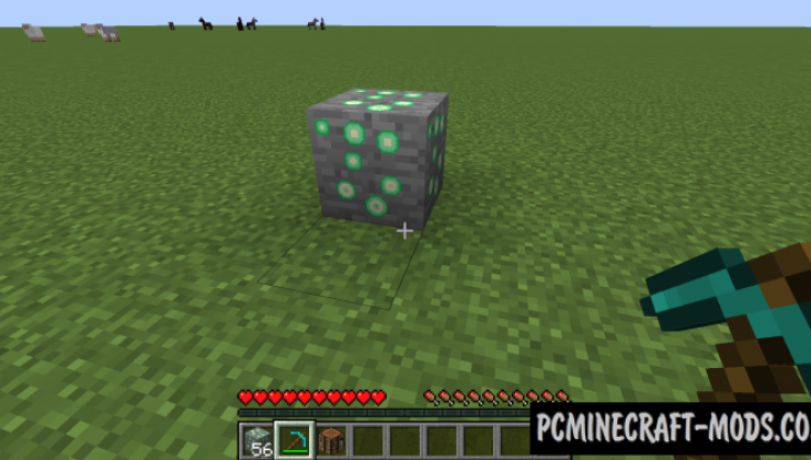 Exp Ore - New Blocks Mod For Minecraft 1.16.5, 1.15.2, 1.14.4