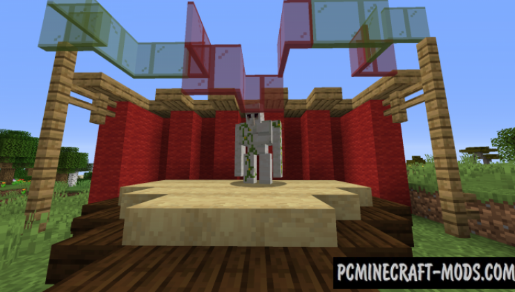 Golems Galore - New Mobs Mod For Minecraft 1.16.5, 1.16.4