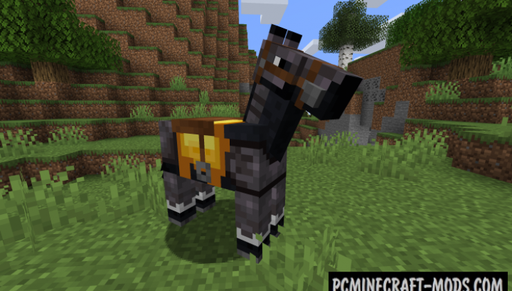 Netherite Horse Armor Mod For Minecraft 1.16.5
