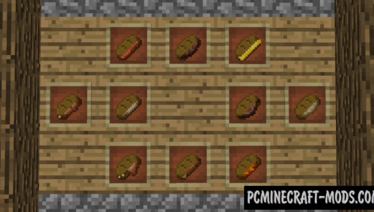 Just Sandwich - Food Mod For Minecraft 1.15.2, 1.12.2
