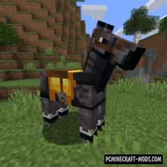 Netherite Horse Armor Mod For Minecraft 1.16.3