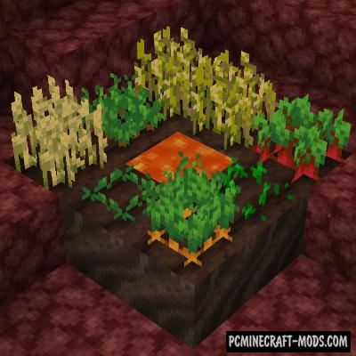 Soul Soil Farmland - Tweak Mod For Minecraft 1.16.5, 1.16.4