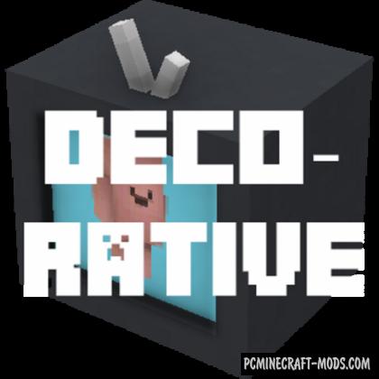 Decorative - Home-Outdoor Decorations Mod MC 1.16.2, 1.15.2