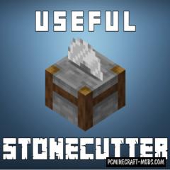 Actually Useful Stonecutter - Tool Block Mod MC 1.16.4