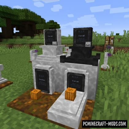 Tombstone: Revived - Adventure Mod For Minecraft 1.12.2