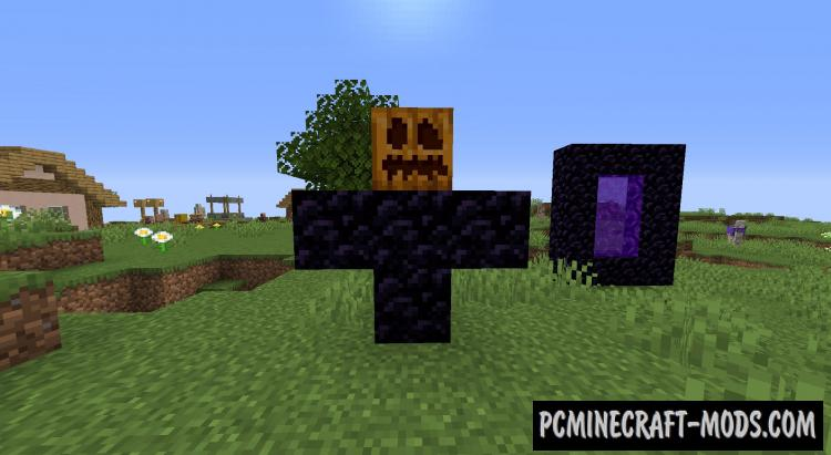 Golems Galore - New Mobs Mod For Minecraft 1.17.1, 1.16.5