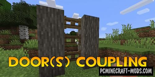 Door(s) Coupling - Tweak Mod For Minecraft 1.16.4