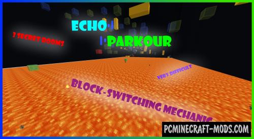 Echo Parkour - Parkour Map For Minecraft