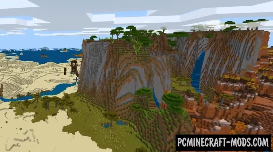 Floating Islands, Pillager Outpost Seed For MC 1.16.5, 1.16.4
