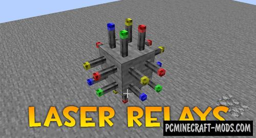 Laser Relays - Technology Mod For Minecraft 1.16.5