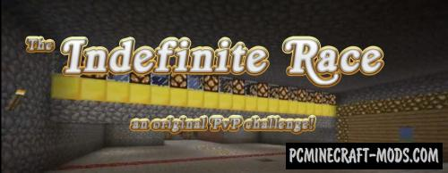 Indefinite Race - PvP, Minigame Map Minecraft