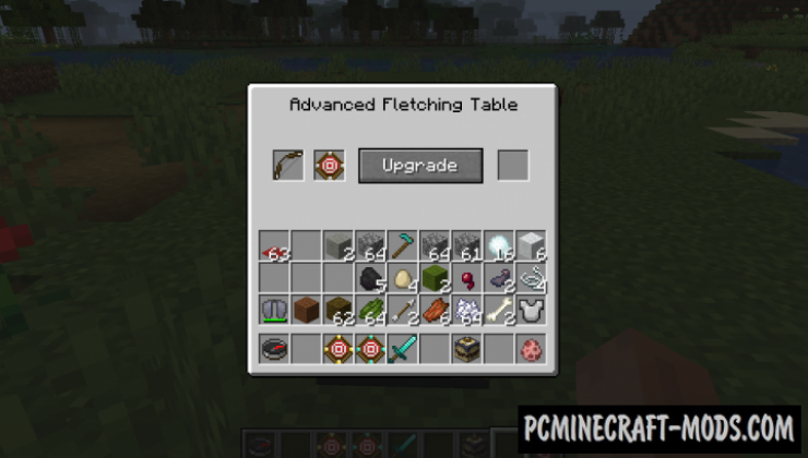 MoreBows - Advanced Bow with Slots Mod Minecraft 1.15.2