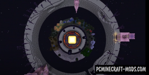 The Dimension Donuts - Building, Survival Map MC