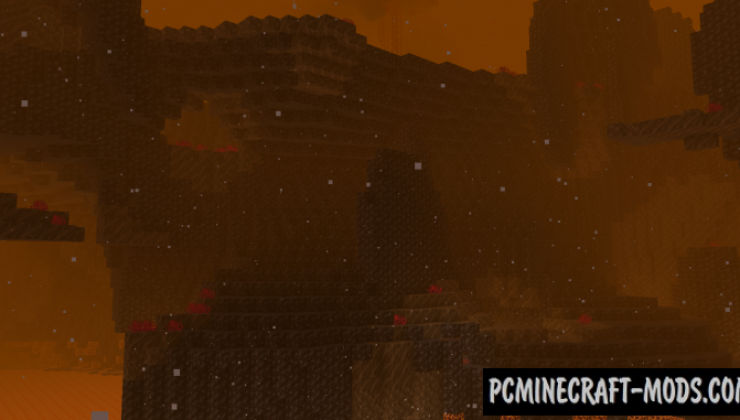 Cinderscapes - New Nether Biomes Mod Minecraft 1.16.5