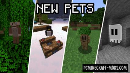 Passive Pets - Creatures Mod For Minecraft 1.15.2, 1.14.4
