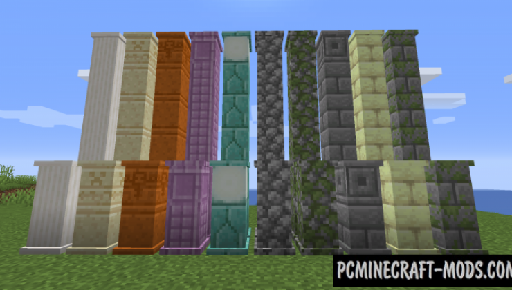 Builders Crafts & Additions - Decoration Mod MC 1.16.4, 1.15.2