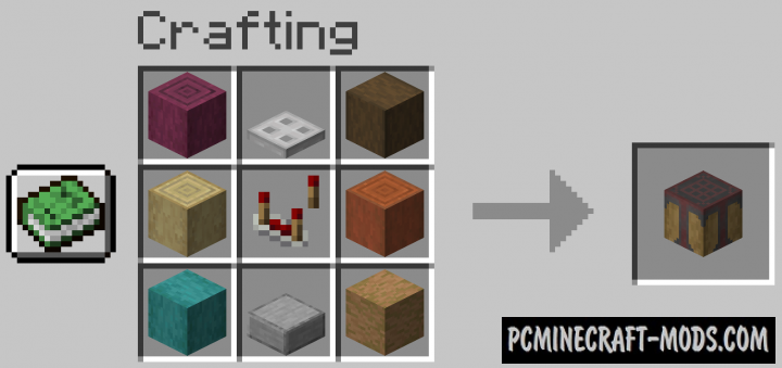 Automated Crafting - Mech Block Mod For MC 1.16.5, 1.16.4