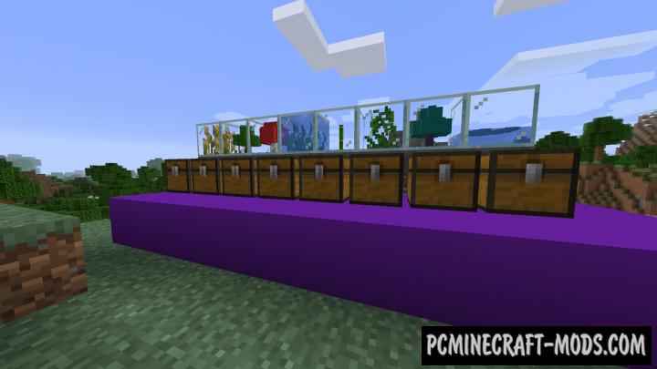 Plant In A Jar - Farm Terrariums Mod For Minecraft 1.17.1, 1.16.5