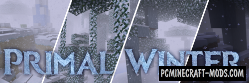 Primal Winter - New Biome Mod For Minecraft 1.16.2, 1.15.2