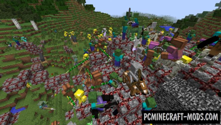 MonstersRegularArmy - PvE Mod For Minecraft 1.12.2