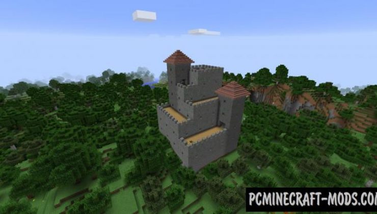 Castle Dungeons - Generator Mod For MC 1.16.5, 1.12.2