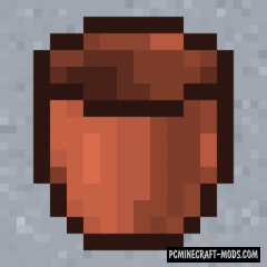 Ceramic Bucket - Surv Item Mod For MC 1.16.5, 1.16.4