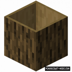 Hollow Logs - Decor, New Block Mod For MC 1.16.3, 1.15.2