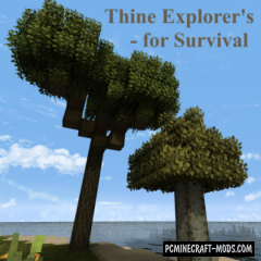 Thine Explorer's Pack Revival Texture Pack MC 1.16.5, 1.16.4