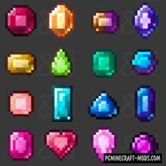 Gems & Jewels - New Ore Mod MC 1.16.1, 1.15.2, 1.7.10