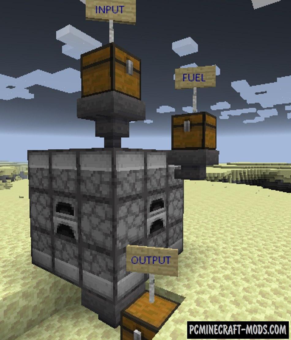 Jumbo Furnace - Tech Tool Mod For Minecraft 1.16.5