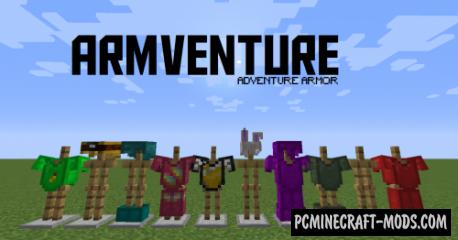Armventure - New Armor Mod For Minecraft 1.17.1, 1.16.5, 1.16.4