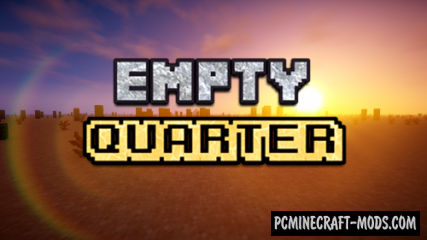 Empty Quarter - Finding Map For Minecraft