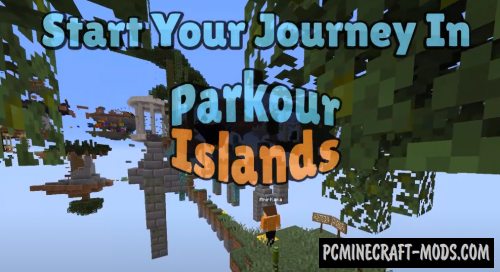 Parkour Islands - Minigame Map For Minecraft
