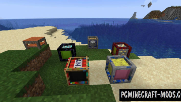 Packages - Storage Block Mod For Minecraft 1.16.4, 1.15.2