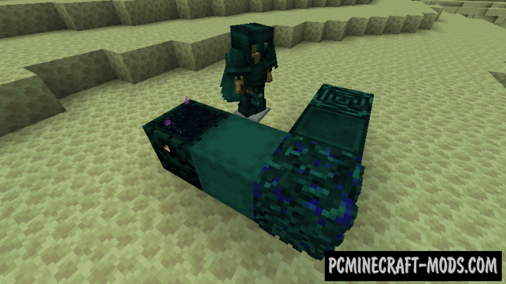 Enderite - Ore, Weapons, Armor Mod For Minecraft 1.16.5