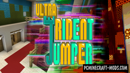 Ultra Trident Jumper - Parkour Map For Minecraft