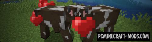 Breeding Hearts - Tweak Mod Minecraft 1.16.3, 1.15.2, 1.12.2
