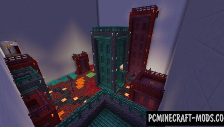 U - Parkour Map For Minecraft