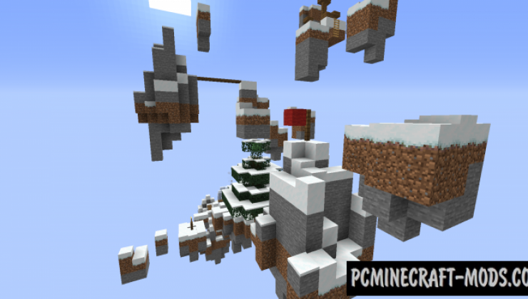 From Summer to Winter - Parkour Map For MC