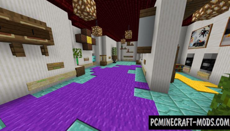 Monsters Paradise - PvE, Mini-Game Map For MC