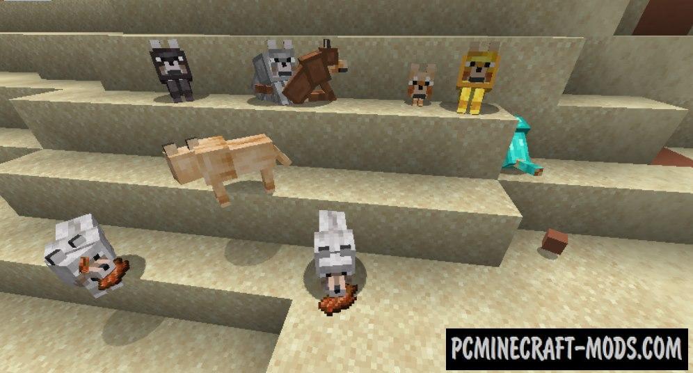 RevampedWolf - Tweaks Mod For Minecraft 1.16.5, 1.16.4
