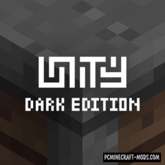 Unity: Dark Edition Texture Pack For Minecraft 1.16.5, 1.12.2