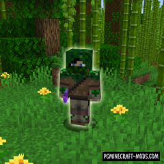 Hunter - Mob, Weapon Mod For Minecraft 1.16.3, 1.15.2