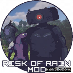 Risk of Rain - Mobs Mod For Minecraft 1.16.5, 1.16.4