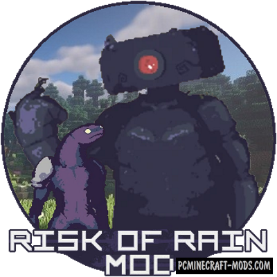 Risk of Rain - Mobs Mod For Minecraft 1.16.4, 1.15.2