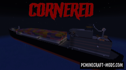 Cornered - Horror Map For Minecraft