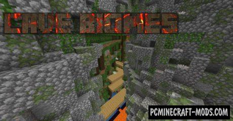 Cave Biomes - Gen Data Pack For Minecraft 1.16.5, 1.16.4